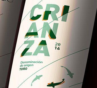 Versión para dispositivos móviles del diseño de etiquetas de vino para Valbusenda.Tea for two - estudio de diseño gráfico.