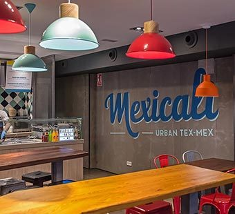 Mobile version of several graphic design projects for Mexicali. Tea for two - restaurant menu design.