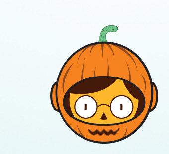Versión para dispositivos móviles del diseño de iconos de Halloween para el Festival de Benicàssim. Tea for two – diseño de carteles