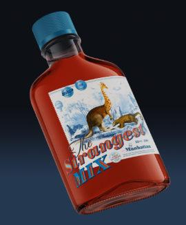bottle-label-design-the-strangest-mix-2